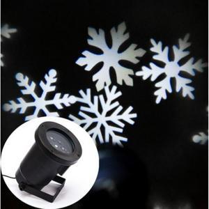 Buy cheap Le flocon de neige blanc de Noël de LED allume - lumière de partie de disco - des lumières de décorations de mariage product