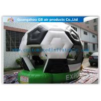 Inflatable Football Bouncer , Soccer Inflatable Bounce House , Football Jumping