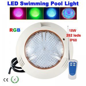 China 24W351leds RGB LED swimming pool light Wall-mounted on sale