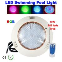China 24W351leds RGB LED swimming pool light Wall-mounted on sale