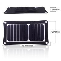 Buy cheap Mini Flexible Solar Power Battery Charger 12V Compacted Novel Size product