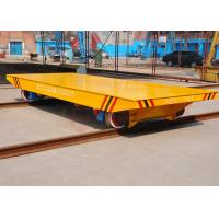 Buy cheap Rail mounted electric battery railroad carriage with large platform product