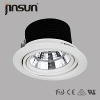 Buy cheap 40W 3000LM 24 Degree Recessed Residential COB LED Downlight Made in China product