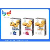 China Promotional Paper Christmas Cookie Gift Boxes , Takeaway Biscuit Packaging Boxes wholesale