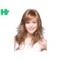 Buy cheap 20 Inch Blond Brown Long Natural Look Synthetic Hair Wigs For Women product