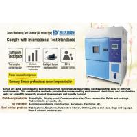 China Programmable Xenon Accelerated Weathering Tester with PLC Touch Screen Controller wholesale
