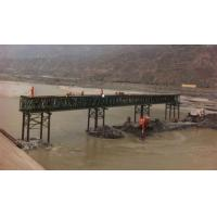 Buy cheap Pins Connect Temporary Military Bridges 45 Meter Span Incrementally Launched Bridge product