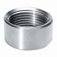 Buy cheap ASTM B564 UNS N08367 NPT threaded half coupling product