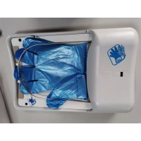 Buy cheap Touchless ABS Biodegradable PE Glove Dispenser Wall Mount product