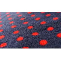 Buy cheap 100% Polyester Dot Print Coral Fleece Fabric product