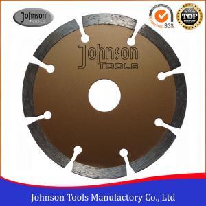 Buy cheap 4 Inch Stone Cutting Discs , Diamond Segment Saw Blade High Speed product