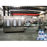 Buy cheap Fully Automatic Bottled Water Filling Line , Water Bottling Equipment Production from wholesalers
