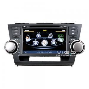 Buy cheap Car Stereo Headunit Multimedia Sat Nav DVD For Toyota Highlander C035 product