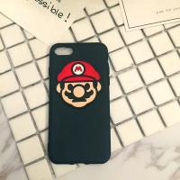 China Soft Silicone DIY 3D Peach Jun Super Mario Handmade Cell Phone Case Back Cover For iPhone 7 6s Plus on sale
