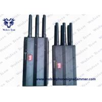 Quality Full Frequency Handheld Signal Jammer Cell Phone 2G 3G 4G High Tech Rubber for sale