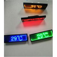 Buy cheap RGB Programmable Scrolling LED Sign , Rechargeable USB Flashing Electronic LED Name Badge product
