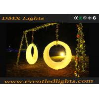 Buy cheap IP54 Waterproof Light LED Swing Chair , Commercial LED Bar Counter for Wedding product