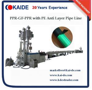 Tuyau des fibres de verre PPR faisant la machine avec la couche du PE ANTI-UV