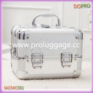 Buy cheap Серебряный ящик для хранения макияжа АБС печатания product
