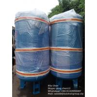 Buy cheap 縦のタイプ窒素の空気圧縮機タンク2m3 10棒圧力炭素鋼の空気タンク from wholesalers