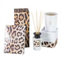 Luxury Perfume Candle And Diffuser Set Colourful Scented With Custom Logo