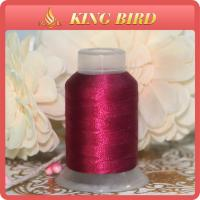 China DMC Dyed Machine Embroidery Thread Red Polyester For Decorative on sale