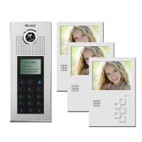 Buy cheap 8 Apartments Video Intercom Building Video Door Phone System Chinese Supplier product