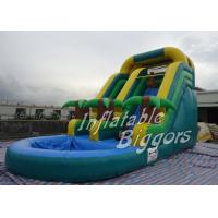 Buy cheap Amusement Park Inflatable Giant Blow Up Water Slides , AU Inflatable Fun Rentals product