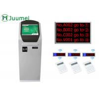 Buy cheap 17 Inch Bank Smart Wireless Calling System Queue Management Kiosk product