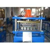 Buy cheap 200-600mm Width Adjustable Shelving Rack Roll Forming Machine with GCr15 Steel product