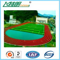 Buy cheap All Weather Tracks 13MM Rubber Running Track Surface Material Sandwich System product