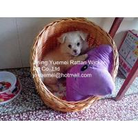 Buy cheap wicker pet basket willow pet basket wicker dog bed wicker dog house kennels Christmas for product