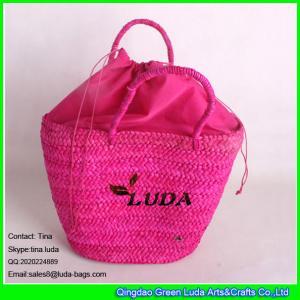 Buy cheap El bolso de las últimas mujeres del ocio de la rosa de LUDA de la paja del bolso del bolso rojo del cornhusk product