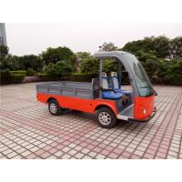 Buy cheap 48V Battery Electric Luggage Cart With Cargo ≤4.5m Braking Distance from wholesalers