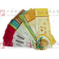 Buy cheap Double Sided Secure Ticket Printing Highly Durable Create A Professional Image product