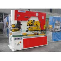 Buy cheap Multi Function Hydraulic Ironworker Machine Stainless Steel Cutting Material product