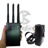 Buy cheap Handheld 6 Antennas LOJACK Signal Jammer Continous Working Build - In 1 Cooling Fan product
