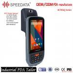 Buy cheap Mobile Data Collection Handheld RFID Reader 125KHZ Fingerprint Reader Android product