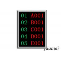 Buy cheap Queue Number Display Function and Indoor Usage Juumei Queue Token Number Dot Matrix LED Counter/Teller Display product