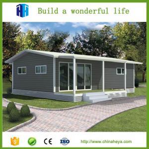 Buy cheap casa de acero prefabricada de vila del envase del aislamiento del almacén EPS/rockwool del bajo costo product