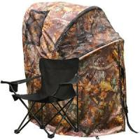 Buy cheap Pro Hunting Chair One Man Ground Blinds Real Tree Camo Tent for Deer Turkey , Duck product