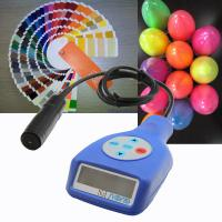 Buy cheap Portable guoou powder coating thickness gauge in different color measure the thickness on Aluminum and ferrous product