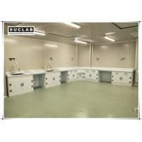Quality Chemical Resistant Lab Bench Furniture With PP Worktop And Cabinet For Laboratory for sale