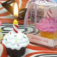 Buy cheap cup cake birthday candle product