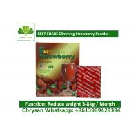 Buy cheap Strawberry Powder Weight Loss Fruit Juice BESTSHARE For Slimming SGS Approved from wholesalers