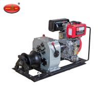 Buy cheap Lifting Equipment 3Tons JM3C Shafted Driven Cable Powered Pulling Winch product