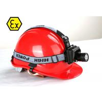 Buy cheap 3 Watt Explosion Proof LED Headlamp  8-16 Hrs Runtime CE ROHS Certificates product