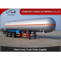 Buy cheap 59.7 M3 LPG Tank Trailer Pressure Vessel Three Axles Trailer 25 Ton Capacity product