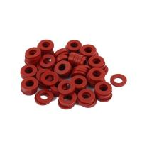 Buy cheap Red Silicone Rubber Seal Ring Food Grade Weathering Processing For Glass Washer product