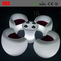 Buy cheap Whaterproof Outdoor Furniture LED Furniture Glowing Chair  16 colors changable for Yard Garden Party Club Event Park from wholesalers